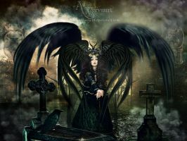 The witch Craft Angel by annemaria48