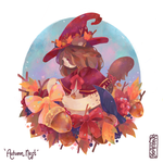 Commission | Autumn Nest by Naomame