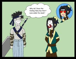 Zabuza and Haku by CrowMaiden