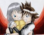 Riku and Sora by LordCavendish