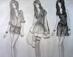 fashion template by cecilfd20