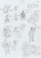 Character sketches 2 by An-alt-acount