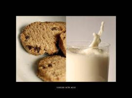 cookies with milk by topinka