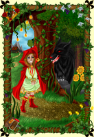 LRRH - Meeting Mr. Wolf by Paola-Tosca