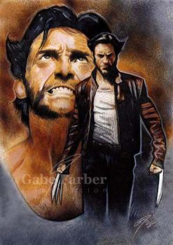 Logan the Wolverine by GabeFarber