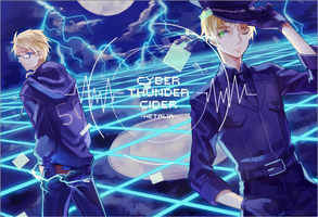 [USUK]Cyber Thunder Cider by hecollision