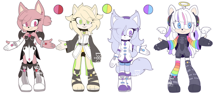 [CLOSED] Rainbow Adoptable Batch by Fivey