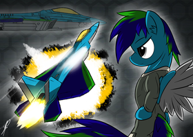 Ace Combat Equestria (A.C.E) : Dark Rainbow by DJP15