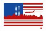 911 Flag by lozart