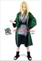 Naruto Green Tsunade Cosplay costume by miccostumes