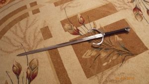 witcher siver sword full by Peasmman