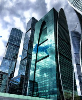 Moscow cite different by ubinko