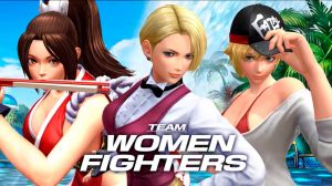 Women Fighters Team - The King of Fighters XIV by Zeref-ftx