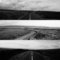 Roads by under-the-horizon