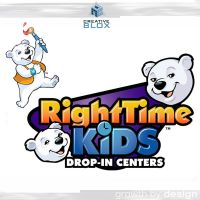 RightTimeKids Corp ID design by creativeblox