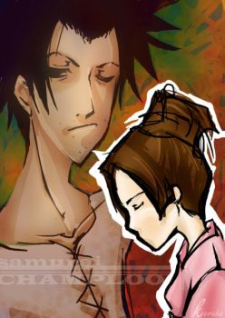 champloo- fuu and mugen by TwistedBrow