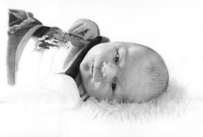 Baby portrait step 4 by Per-Svanstrom