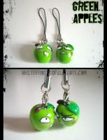 Green Apples by whitefrosty