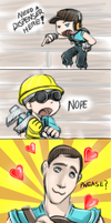 TF2: need a Dispenser here by DarkLitria