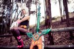 Battle Bunny Riven by ZerinaX