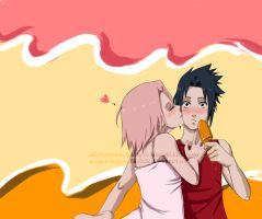 SasuSaku - Melting by KiraWan