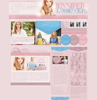 Jennifer Lawrence Poland by heart4design