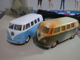 VW Kombi Lost TV serie by evandrominiaturas