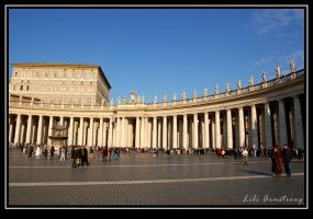 St. Peter's Square - Revisited by jadeoracle