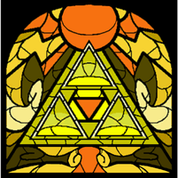 The Holy Triforce by themanfromhyrule