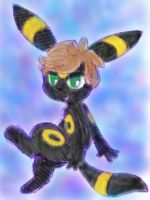 Request: Umbreon Pokesona by LleNelleBelle