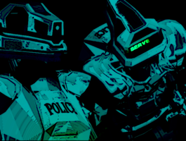 Police bots by XPOWER111