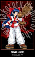 snk nakoruru by cloudberry