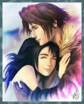 Rinoa and Squall by StellaB