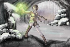 Old Style Lara in the snow by littlesusie2006