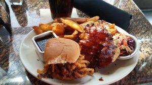 BJ's Barbecue Lunch Platter by BigMac1212