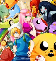 C: Adventure Time by enjelia
