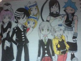 soul eater cast by Hamzilla15