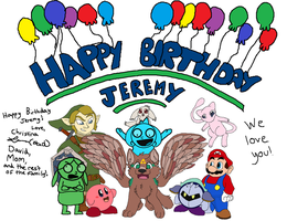 Happy Birthday Jeremy! by Fuchsianess