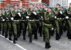 Russian Paratrooper parade by ShitAllOverHumanity