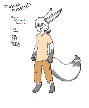Joey Tungstine ref by Almighty-Joey