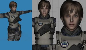 Aged Rebecca Chambers version2 by Zerofrust