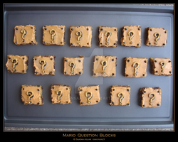 Cookies: Mario Question Blocks by simonsaz3