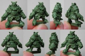 Chaos Dwarf 4 - WILLY MINIATURES by Serg-Natos