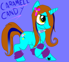 .:Caramell Candy:. (Candy Pony Form) by XCandyTheFoxX