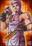 Roleplaying Shenanigans: Sweaty Smithy 'Stair by aimo