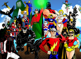 DC Icons Legacy: Past by portfan