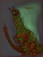 Turris - Collaboration with Quinn-Red by PickledGenius