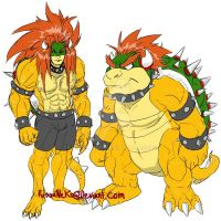 Bowser to rule them all by rinoaneko
