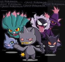 Ghost Pokemon:D by FantasyFreak-FanGirl