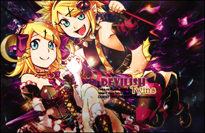 Devilish Twins by LotsOfLaughs13